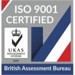 UKAS - ISO 9001 Certified
